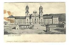 AK  Einsiedeln Kanton Schwyz  Kloster Schweiz Weltpostverein 30.VIII 1906