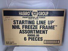 1997 Starting Lineup NHL Freeze Frame 1 On 1 NHL Factory Sealed Case # 69080.00