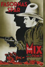 Flaming guns Tom Mix 1932 #2 western movie poster