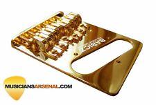 Babicz Full Contact Hardware Telecaster Bridge, Gold