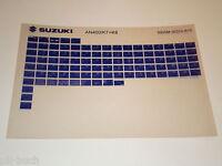 Microfich Spare Parts Catalog Suzuki An 400 Stand 2008