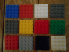 12 Small Lego Base Boards For Building On 4 x 4 Pegs In Size In Good Condtion