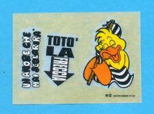 JUVE NELLA LEGGENDA-Ed.MASTER 91-Figurina/TRASFERELLO- TOTO' LA FRECCIA -NEW