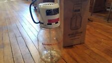 Gem Dandy 4 Quart Deluxe Jr. Electric Churn - Glass and decal near perfect
