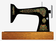 Singer Model 66 Sewing Machine Gingerbread Style Restoration Decals Multi Color