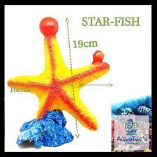 AQUARIUM FISH TANK DECORATION STARFISH 19CM ORNAMENT AQUA FRESH WATER