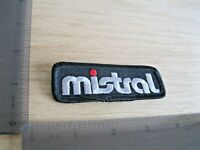 MISTRAL BLACK EMPLOYEE WORKER SHOP STORE RARE VINTAGE PATCH BADGE SEW IRON ON DD