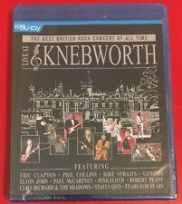 Live At Knebworth Blu-ray. Brand New & Sealed