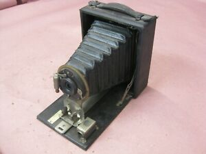 Rare Antique Seneca Uno Camera Collapsing Wollensak Optical Co Rochester USA