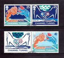 GREAT BRITAIN 1994 Channel Tunnel opening set used