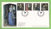 G.B. 1992 Tennyson set on official Poetry Society/Covercraft First Day Cover, Lo
