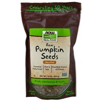 NOW Foods Pumpkin Seeds, Raw, 16 oz.