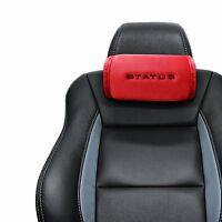 STATUS Multi Pocket Car Seat Head Neck Rest Cushion Headrest Pillow Mesh Pad