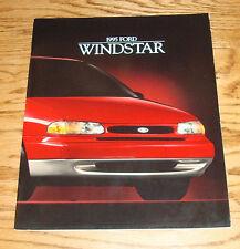 Original 1995 Ford Windstar Sales Brochure 95 1/94 GL LX