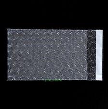"""105 PCS Clear Bubble Packing Pouches Envelopes Wrap Bags 4"""" x 5""""_105 x 130+20mm"""