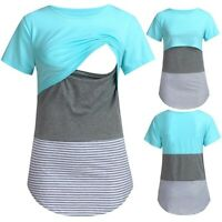 Stillkleidung Stillshirt Schwangerschaftsshirt Umstandsshirt Shirt Stillen NEU