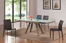 MiniMax Decor Extendable Double Leaf Glass Table Can Fit Up To 10 When Extended