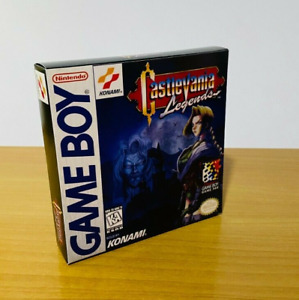 Castlevania Legends - Repro Replacement Box