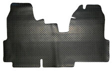 Ford Transit MK7 Twin Passenger (2006-2013) Tailored Black Rubber Van Floor Mat