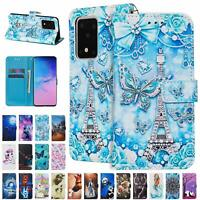 For Samsung Galaxy A51 5G A71 5G Leather Flip Magnetic Wallet Phone Case Cover