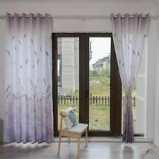 Wheat Curtain Tulle Window Treatment Voile Drape Valance  Panel Fabric DM