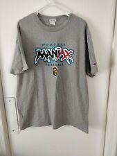 Vintage Memphis Maniaxx XFL T-Shirt Size XL Vince McMahon Champion NWOT