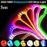 5m Super Bright 12V 5050 SMD 300 Leds RGB Flexible Strip Home Decoration Light