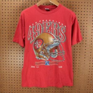 San Francisco 49ers NFL Football T shirt Champs Sport Red Vintage Gift For Fan