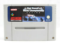Nigel Mansell's World Championship Racing SNES Nintendo Cartridge Only PAL
