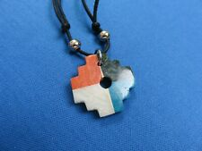 Inca Cross Ethnic Jewelry Chakana B Lima Peru Pendant Necklace South American