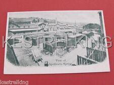 View of Apollinaris Spring Postcard