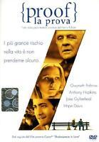 Proof - La prova. DVD - John Madden. Nuovo sigillato