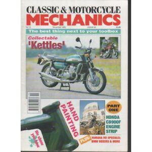 Classic & Motorcycle Mechanics Magazine No.73 November 1993 cb900f KETTLES
