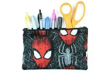 Spiderman Fabric Pencil Pouch - Spiderman Fabric Makeup Bag