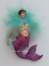 RARE December Diamonds JONATHON Merman Ornament 2003, Collectible Gift Box