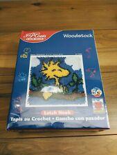 Peanuts Woodstock Latch Hook Rug Kit New Sealed