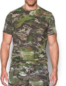 NWT UNDER ARMOUR Mens THREADBORNEmCamo Early Season Hunting SS Shirt 1298961 943
