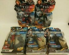 Avengers 5 Figure lot Walmart CAPTAIN AMERICA Loki THOR IRON MAN NICK FURY NEW