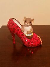 """Charming Tails """"May Your Shoes Bring You Home Again"""" Fritz And Floyd 89/278"""