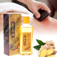 220ml Plante de gingembre Massage corporel à Huile essentielle Oil Thérapie SPA