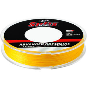 Sufix 150 Yard 832 Advanced Superline Braid Fishing Line - Hi-Vis Yellow