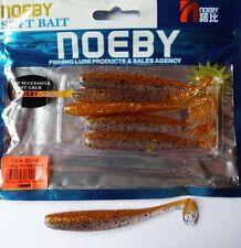 Noeby pêche leurre souple odorant odorant Texan Minnow 10cm 5g couleur 208