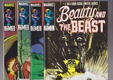 Beauty & The Beast, #1-4, full set/ mini-series, Ann Nocenti, Sienkiewicz NM