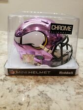 Riddell NFL Minnesota Vikings Chrome Mini-Helmet