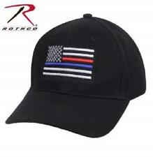 Rothco Thin Blue Line Red Line Police Fire Firefighter Law Enforcement Hat Cap F