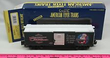 American Flyer ~ 6-48355  2004 Christmas boxcar