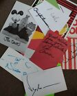 Hollywood  Autographs Signed Collection lot