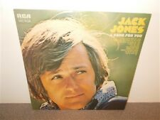 Jack Jones . A Song For You . RCA Victor  SF 8228 . LP