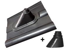 Frankfurter Pfanne Dachziegel Dachabdeckung + Manschette 32-60mm für SAT Mast