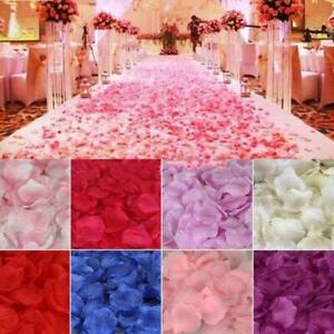 Valentines Silk Rose Petals Flower Table Decorations Confetti Engagement Party